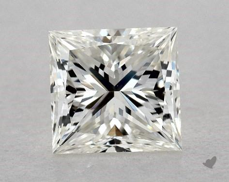 1.00 Carat H-VS1 Ideal Cut Princess Diamond