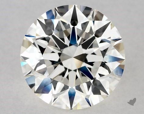 2.40 Carat H-VVS2 Excellent Cut Round Diamond