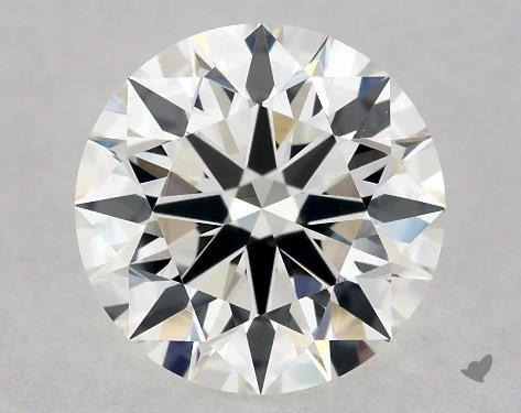 1.23 Carat H-VS1 Excellent Cut Round Diamond