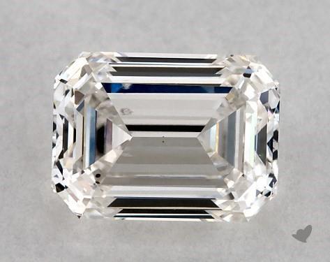 1.02 Carat H-SI1 Emerald Cut Diamond