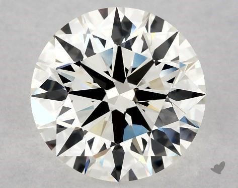 2.56 Carat H-VVS2 Excellent Cut Round Diamond