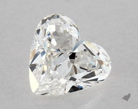 1.03 Carat H-VS2 Heart Shape Diamond