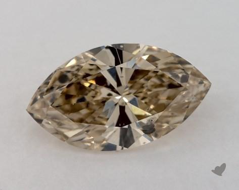 0.93 Carat FANCY  BROWN-SI2 Marquise Cut Diamond