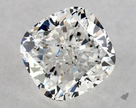 1.00 Carat E-SI1 Cushion Modified Cut Diamond