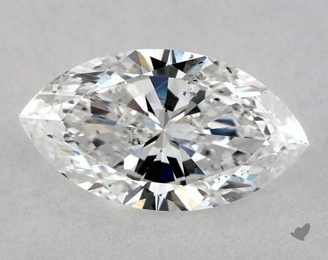 1.01 Carat D-SI1 Marquise Cut Diamond