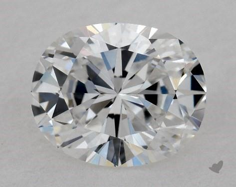 1.02 Carat D-VVS1 Oval Cut Diamond