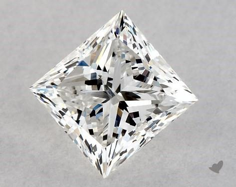 1.01 Carat G-SI1 Ideal Cut Princess Diamond