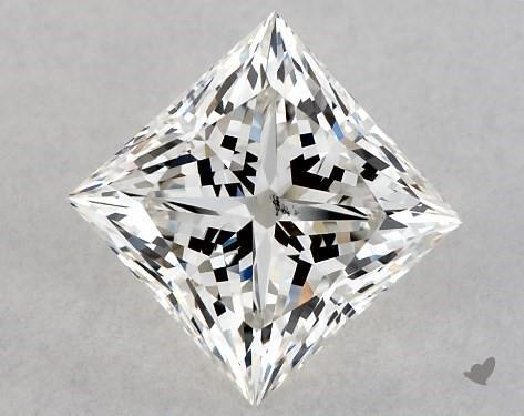 1.07 Carat H-SI1 Ideal Cut Princess Diamond