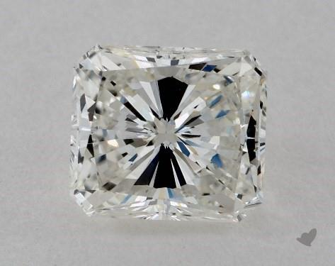1.01 Carat H-VS2 Radiant Cut Diamond