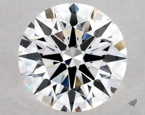 Lab-Created 1.35 Carat F-VS1 Ideal Cut Round Diamond