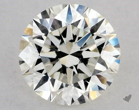 1.01 Carat H-SI1 Excellent Cut Round Diamond