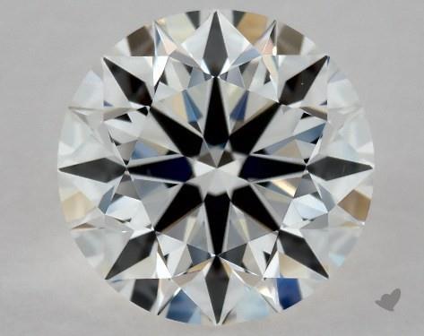 1.00 Carat F-VS1 Excellent Cut Round Diamond