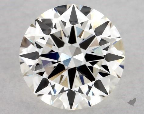 1.25 Carat H-VS2 Excellent Cut Round Diamond