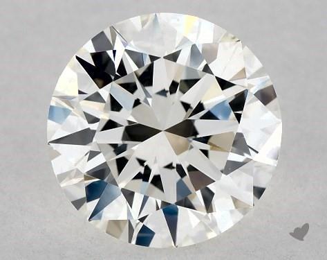 1.13 Carat H-VVS2 Excellent Cut Round Diamond