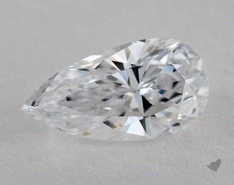 1.01 Carat D-IF Pear Shape Diamond