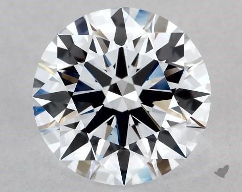 Lab-Created 1.28 Carat G-VS1 Ideal Cut Round Diamond