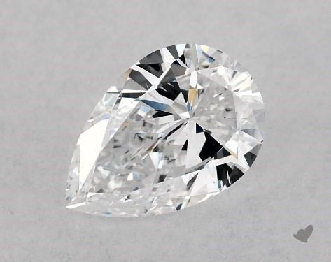 1.01 Carat D-SI1 Pear Shape Diamond