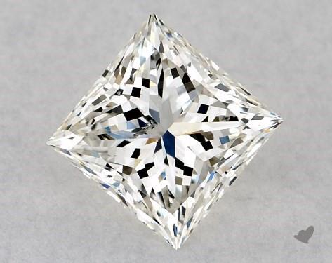 1.00 Carat H-SI1 Ideal Cut Princess Diamond
