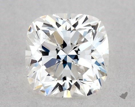0.53 Carat F-VVS2 Cushion Cut Diamond