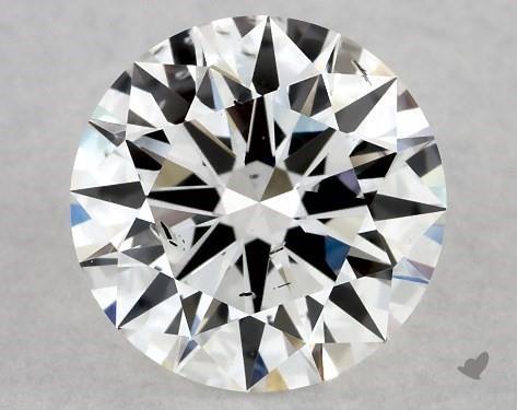 Lab-Created 1.06 Carat H-SI1 Ideal Cut Round Diamond