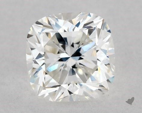 0.53 Carat G-VVS2 Cushion Cut Diamond