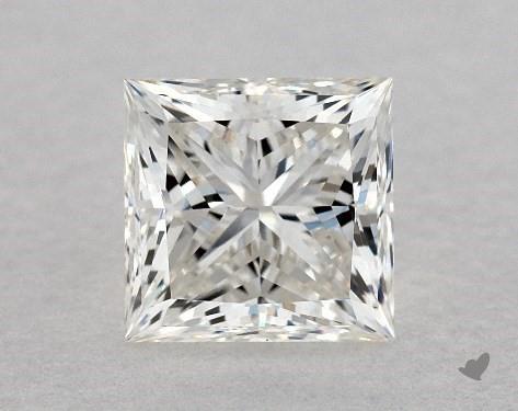 0.85 Carat H-VS1 Ideal Cut Princess Diamond