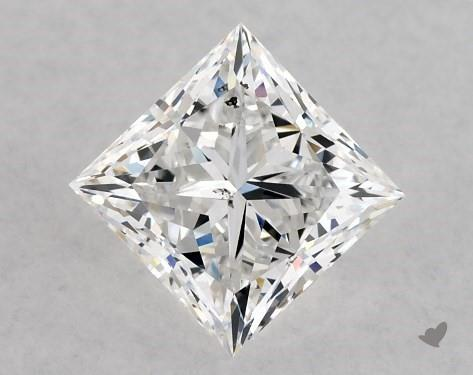 1.05 Carat E-SI1 Ideal Cut Princess Diamond
