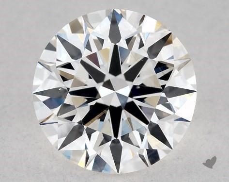 1.21 Carat G-VS2 Excellent Cut Round Diamond