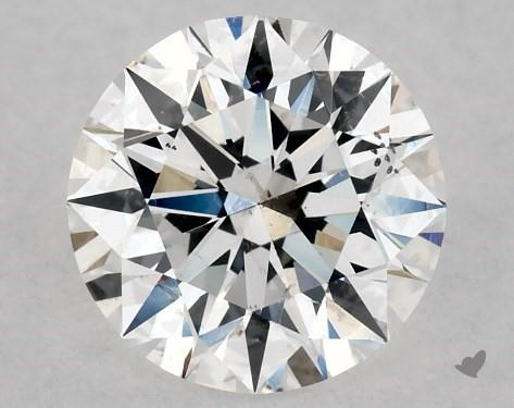 1.00 Carat D-SI1 Excellent Cut Round Diamond