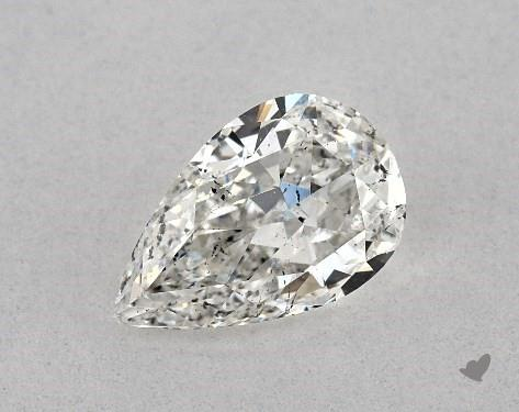 1.01 Carat G-SI1 Pear Shape Diamond