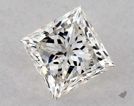 1.01 Carat H-SI1 Ideal Cut Princess Diamond