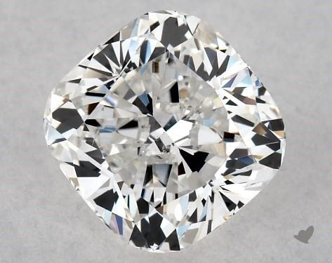 1.01 Carat F-SI1 Cushion Modified Cut Diamond