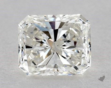 1.00 Carat H-VS1 Radiant Cut Diamond