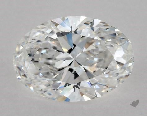1.50 Carat D-VS1 Oval Cut Diamond
