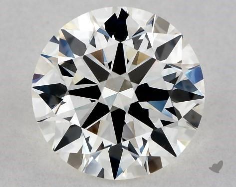 1.58 Carat H-VVS2 Excellent Cut Round Diamond