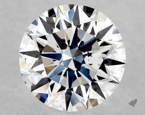 Lab-Created 1.00 Carat G-SI1 Ideal Cut Round Diamond