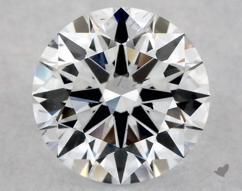 Lab-Created 1.03 Carat G-SI1 Ideal Cut Round Diamond
