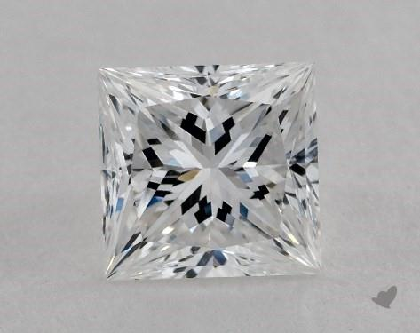 1.33 Carat E-VS1 Very Good Cut Princess Diamond