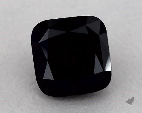 1.86 Carat FANCY  Black Cushion Modified Cut Diamond