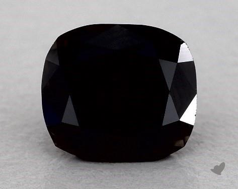 1.18 Carat FANCY  Black Cushion Modified Cut Diamond