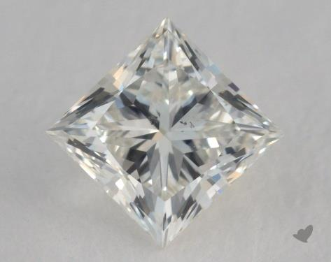 0.61 Carat K-SI1 Fair Cut Princess Diamond