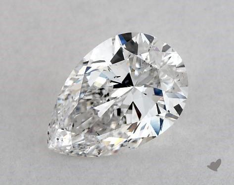 1.01 Carat E-SI1 Pear Shape Diamond