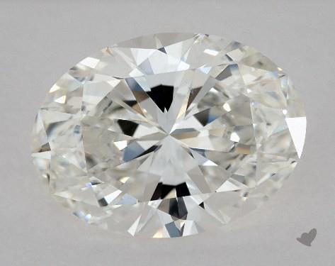 1.53 Carat G-VS2 Oval Cut Diamond