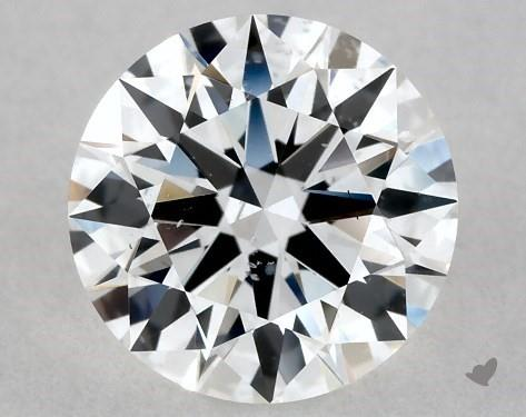 Lab-Created 1.02 Carat F-SI1 Ideal Cut Round Diamond