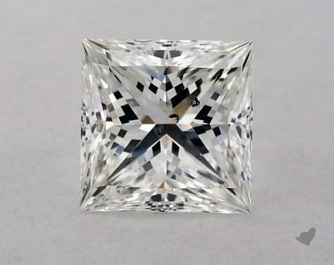 1.02 Carat H-SI1 Ideal Cut Princess Diamond