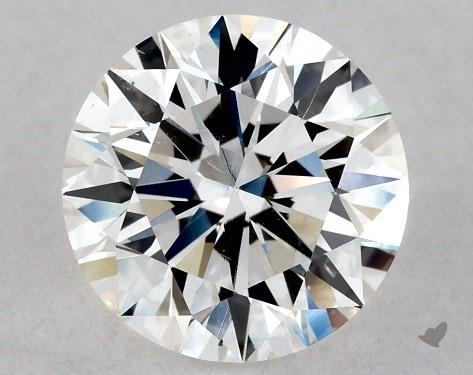 1.00 Carat F-SI1 Excellent Cut Round Diamond