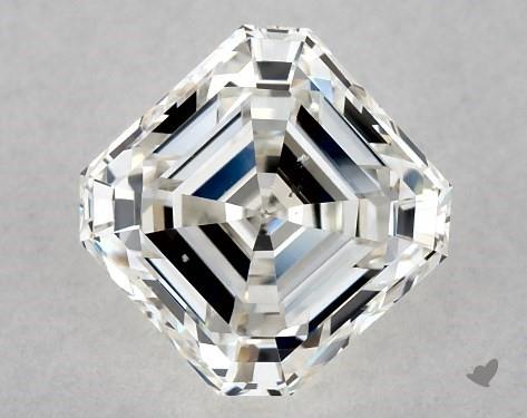 1.04 Carat H-SI1 Square Emerald Cut Diamond