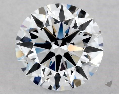 Lab-Created 1.01 Carat H-VS2 Ideal Cut Round Diamond