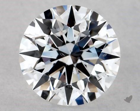 Lab-Created 1.00 Carat E-SI1 Ideal Cut Round Diamond