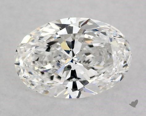 1.00 Carat E-SI1 Oval Cut Diamond